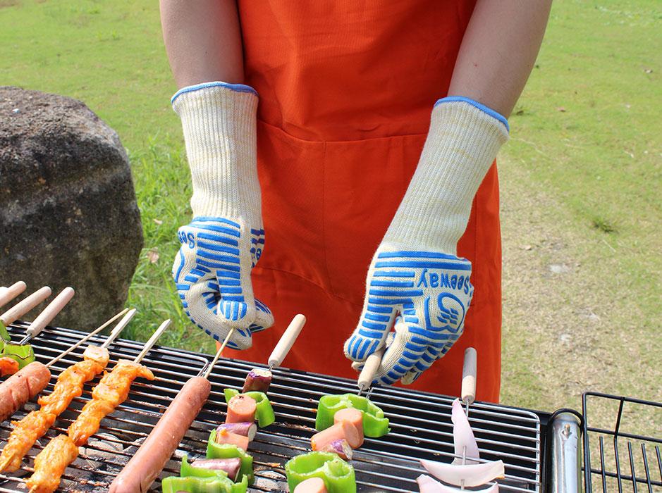 户外烧烤手套