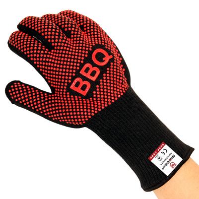隔热防烫双面点胶耐高温BBQ手套