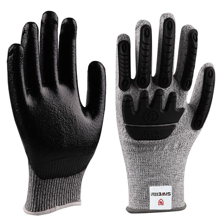 防油防撞型防割手套(5级)