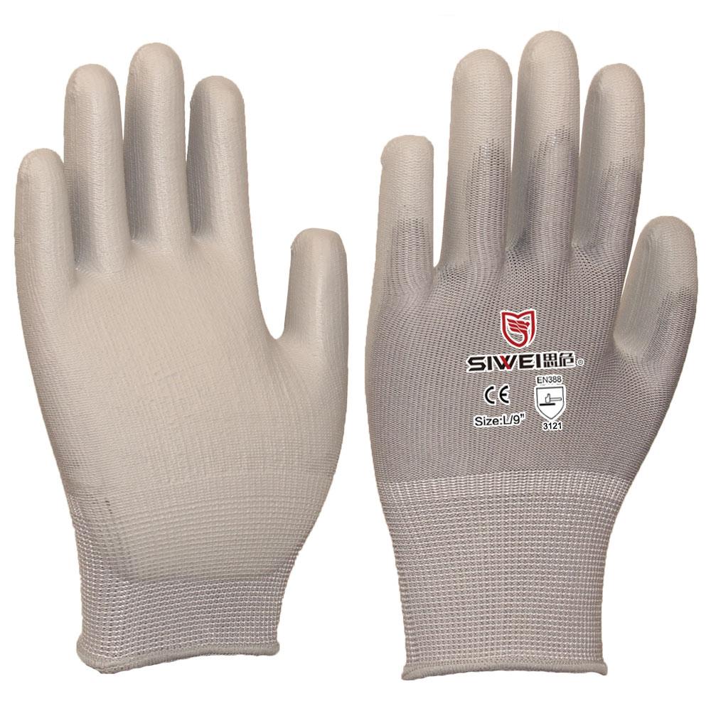 809G  PU涂层手套