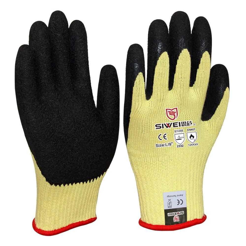 中厚型耐磨防割手套(3级)