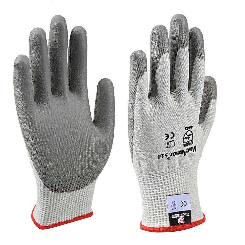 PU涂层防切割手套(5级)