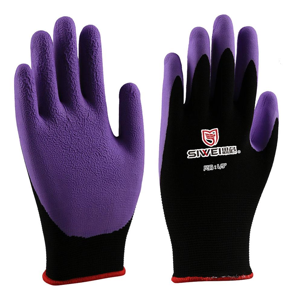 乳胶涂层防护手套