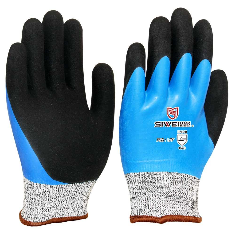防水防油型防割手套(5级)