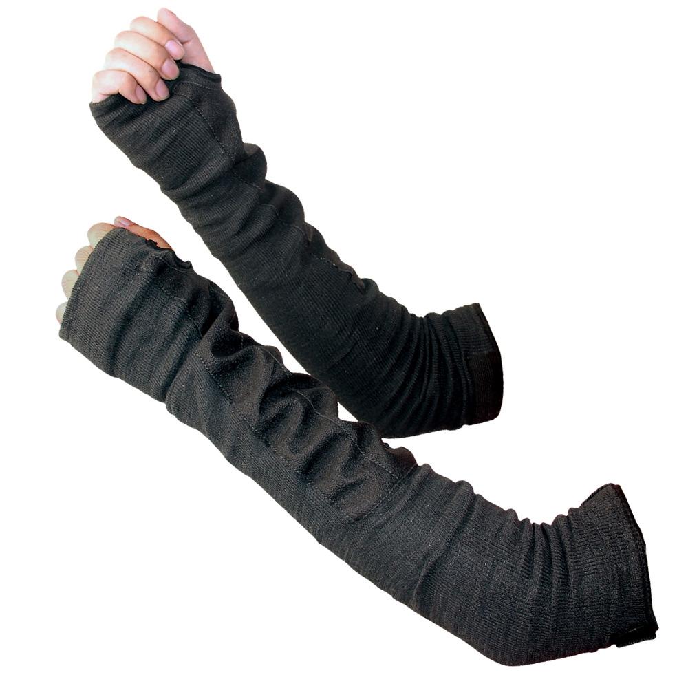 拇指带孔防切割护臂