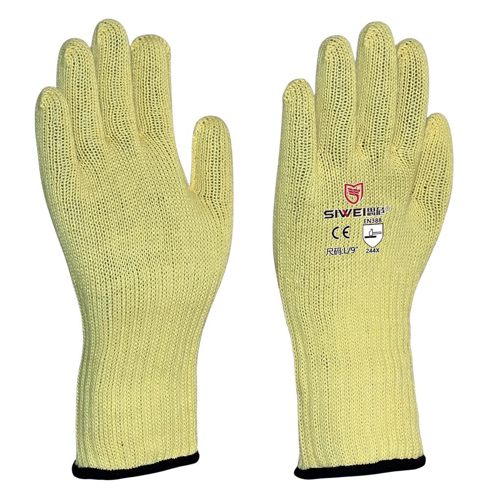 502JC  长款芳纶耐温防割手套