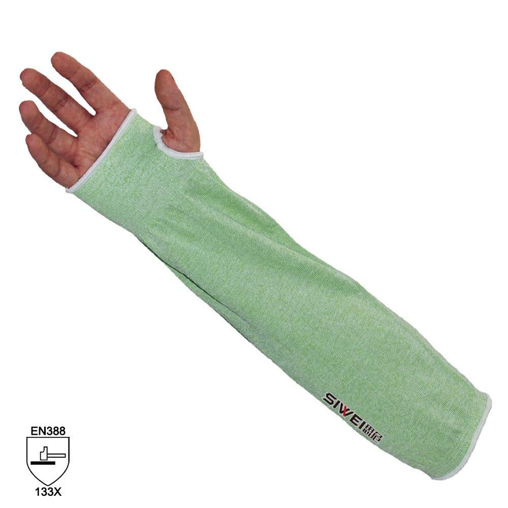 SP03  绿色HPPE防切割护臂(3级)
