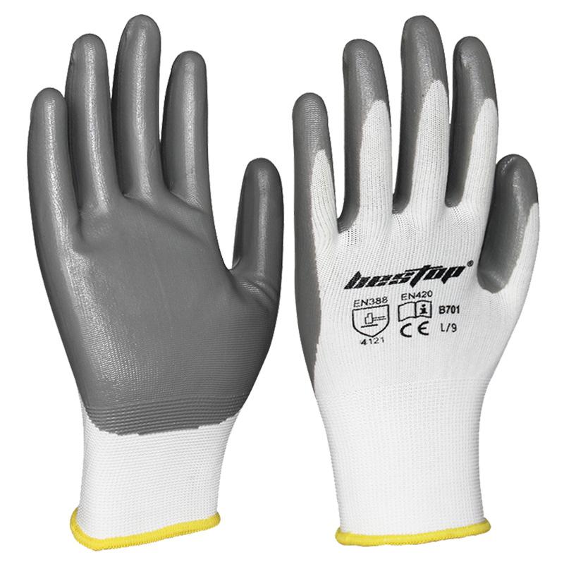 丁晴涂层手套