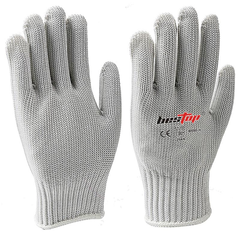 白色防割手套(5级)