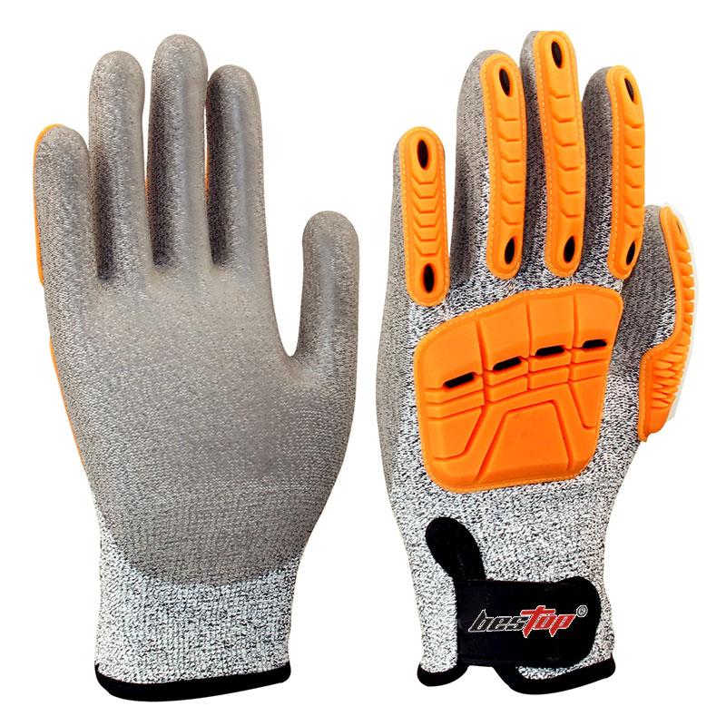防撞型防割手套(5级)